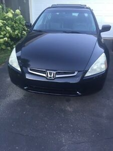2004 Honda Accord  Fully Loaded, Low KMs, New MVI