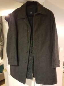 MOVING SALE - Gap Herringbone Topcoat