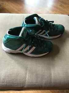 Adidas Pro Model - Size 7 Mens - Celtic Green Patent Leather Prince George British Columbia image 2