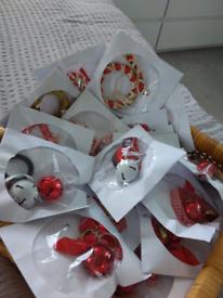 HOME MADE CHRISTMAS DECORATIONS £2 each