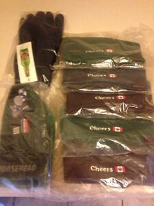Moose head tucs , T shirts & 1 pair of winter gloves