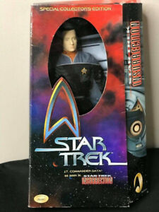 "Playmates 12"" Special Collector's Edition Star Trek Lt. Commande"