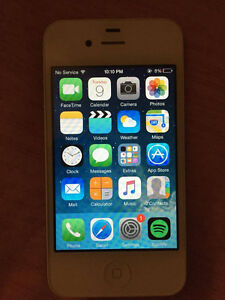White iPhone 4s 16GB perfect condition London Ontario image 4