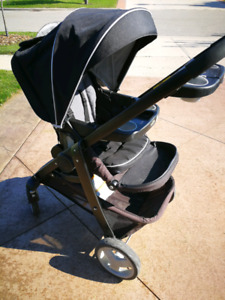 Graco stroller with toddler seat