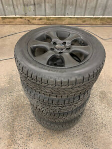 205 55 16 Winter tires on 5 x 114.3 Alloy wheels