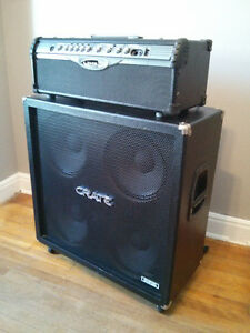 Line 6 Head Unit & CRATE 4x12 Cabinet