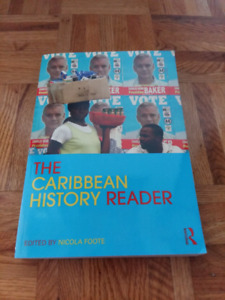 The Caribbean History Reader edited by Nicola Foote