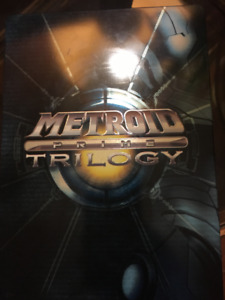 Wii - METROID PRIME TRILOGY COLLECTORS EDITION