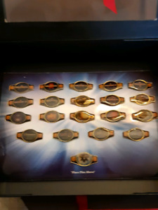 WWE WrestleMania 20 vintage pin collection in Showcase Box