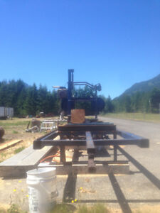 "36"" hydraulic band saw mill and edger"