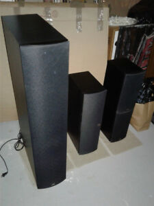 PSB IMAGE HOME THEATRE 5 SPEAKER SYSTEM IN MINT CONDITION