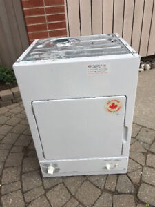 """ge white 24"""" quot; electric stack able dryer 220v"""