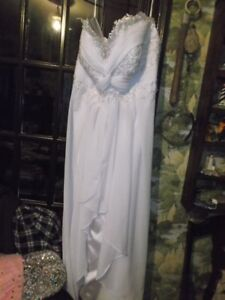 for sale white wedding  gown