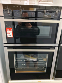 Brand New Neff U1ACE2HN0B 59.4cm Electric CircoTherm Double Oven