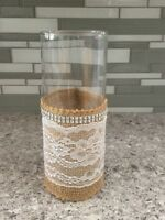 Rustic and Romantic, 15 Vases, Wedding or Special Event