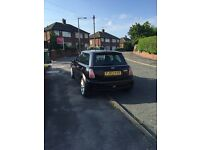Mini Cooper s black with full black leather interior £1400 ono