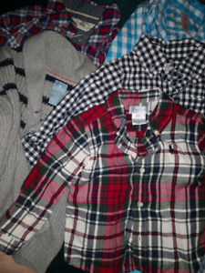Boys gap, polo and more shirts size6-12 months