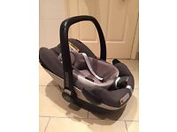 Maxi Cosi Pebble Plus Car Seat - used once on vacation!