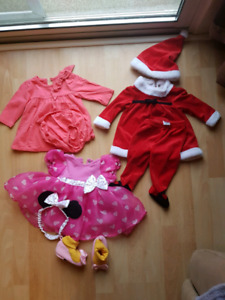Large 3-6 months girls clothing
