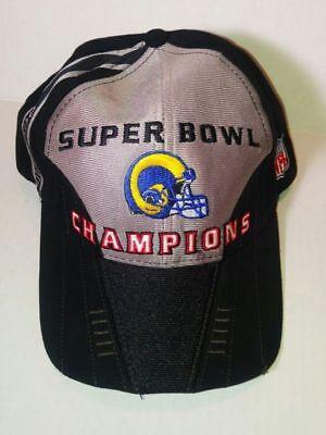 SUPER BOWL XXXIV CHAMPIONS 2000 St Louis Rams OSFA NFL Baseball Cap Hat by  PUMA 860a87290