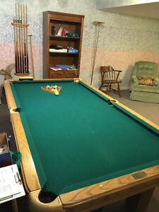Pool Table and accessories -Paragon slate table