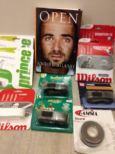 Tennis equipment and accessories