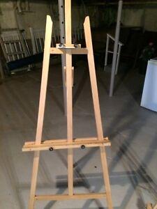 Chevalets de peinture