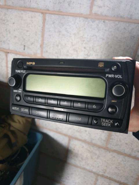 2006 toyota corolla cd player