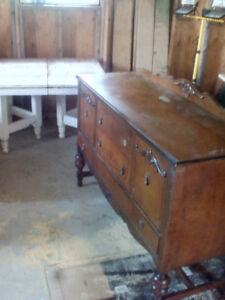 Antique side board table , very dainty looking
