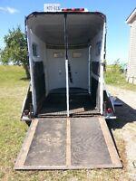 NEEDING trailering/hauling or a horse massage????