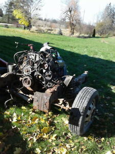 Ford 7.3 Powerstroke Engine and Trans 2003