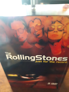 The rolling Stones DVD gift box set