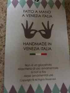 Authentic hand painted mask from Italy Peterborough Peterborough Area image 1