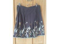 Howies cotton skirt size 10