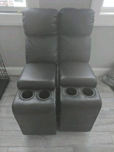 Two leather couch ends... FREE!!