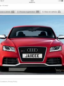 JA11EEE Personalised number plate