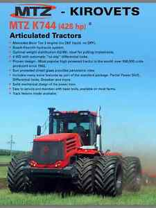 K744. Come see it at AGRI-TRADE show in Red Deer 9-12 November