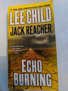 Jack Reacher Novel Echo Burning