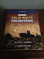 Solid Waste Engineering Textbook **NEW PRICE**