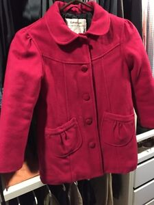 Girl's Fall /Winter  dress Jacket  - size 6/7 Kitchener / Waterloo Kitchener Area image 1