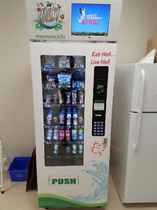 MAX CANADIAN HEALTHY VENDING MACHINES FOR SALE