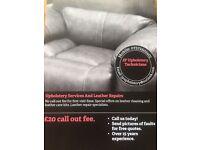 professional upholsterer