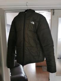 North face coat _reversable