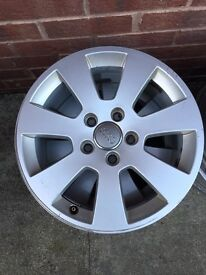 16in Genuine Audi alloys