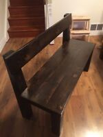 rustic harvest benches, tables and more