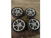 "18"" bmw mv3 alloys"
