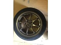 Brand new set of Rota Fighter and new Ad08 tyres