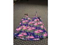 Size 4 flamingo vest new with tags