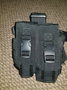 Drop Mag M4 Pouch Black paintball accessory