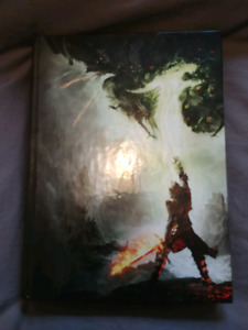 Dragon age book signed